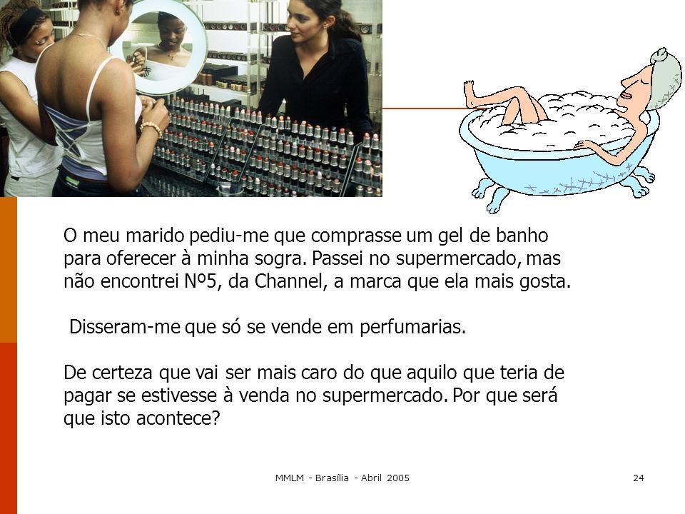 MMLM - Brasília - Abril 200523 Art. 81.º, n.º 1 – Acordos verticais acordos verticais: entre empresas situadas em diferentes estádios da produção ou d