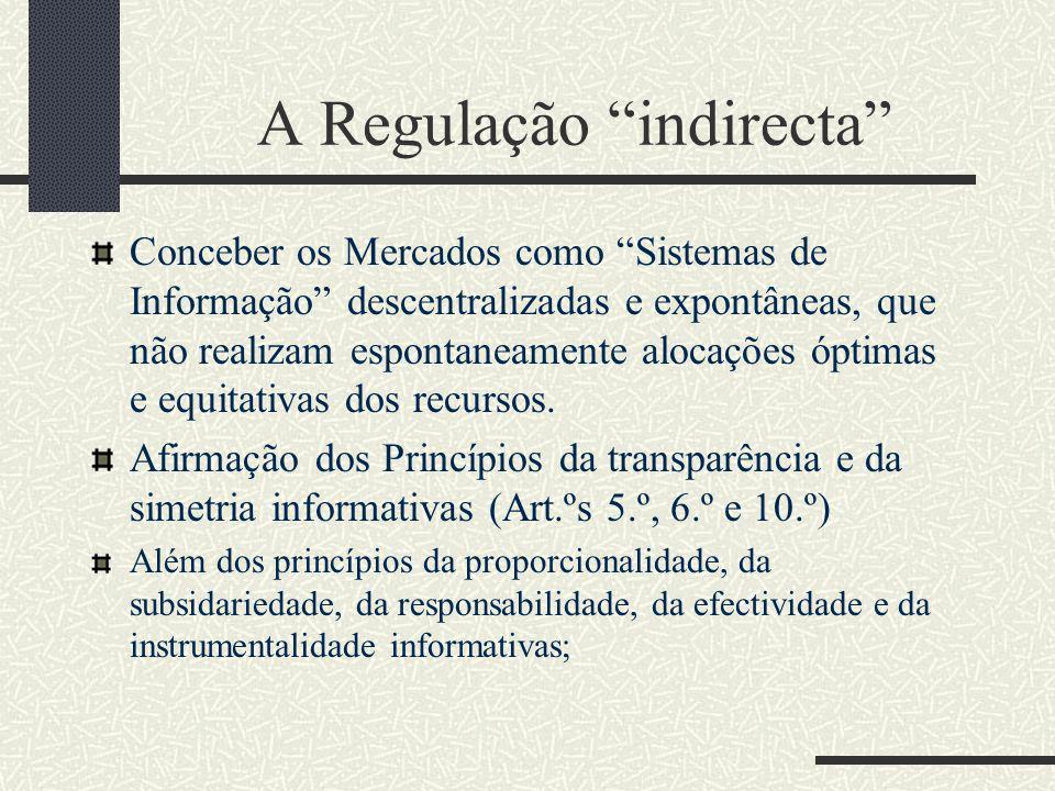 A Regulação indirecta II Articulação com a disciplina dos contratos electrónicos: Transparência como fundamento da autonomia privada; O Direito Europeu dos Contratos é uma consequência da harmonização requerida pelas liberdades económicas comunitárias, no respeito pelos direitos dos consumidores.