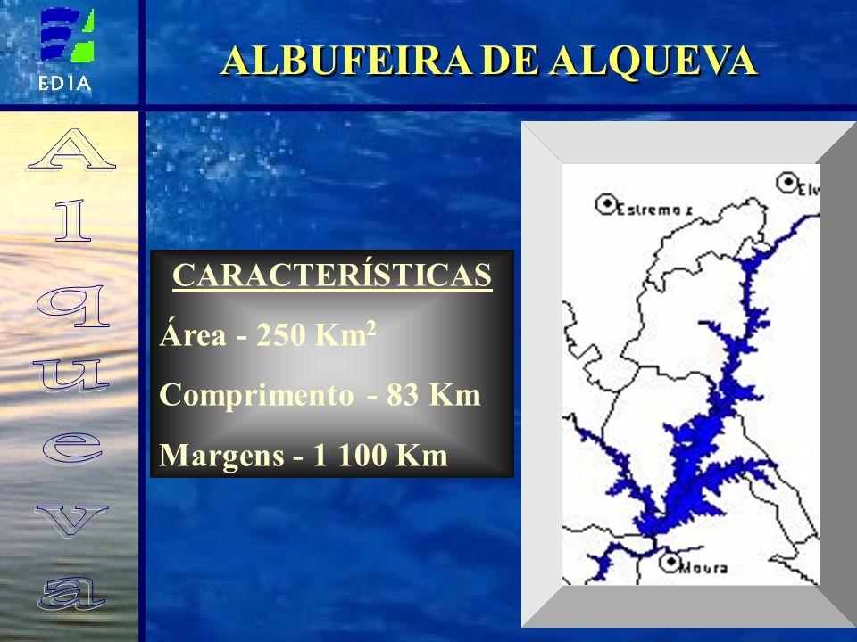 ALQUEVA E O REGADIO ÁREA TOTAL: 110 000 HA UMA NOVA AGRICULTURA