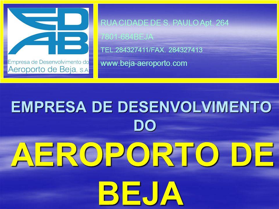 AEROPORTO DE BEJA UM PEQUENO INVESTIMENTO!... UM GRANDE EMPREENDIMENTO!...