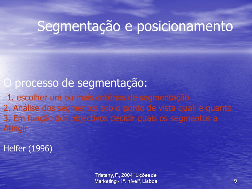 Tristany, F., 2004