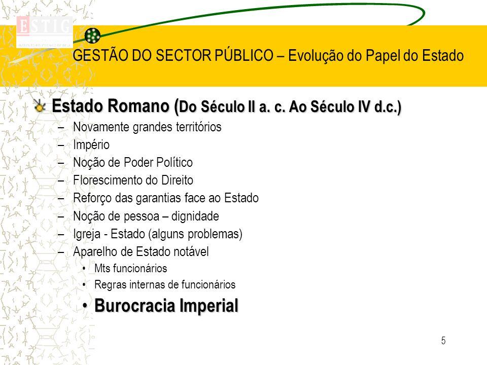 46 SECTOR PÚBLICO Estado - lato sensu (administração) Empresas Públicas- Sector Empresarial do Estado Central Segurança Social Regional Administração Local- Freguesias Concelhos Regiões Adminitrativas