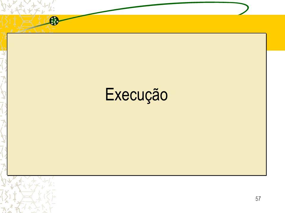 57 Execução