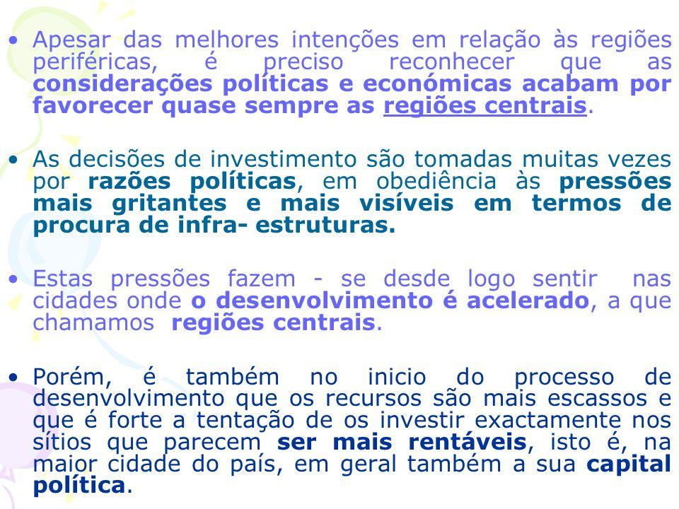 A única forma de o Estado desacelerar a contracção passa por ignorar estas pressões e investir nas regiões em que as pressões sejam menores.