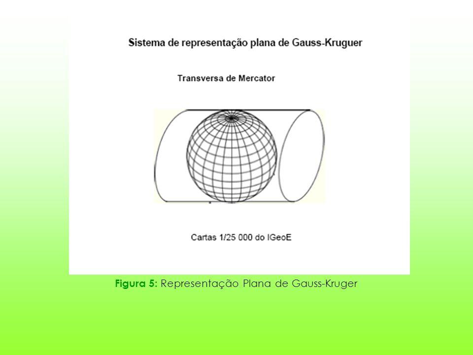 Figura 5: Representação Plana de Gauss-Kruger