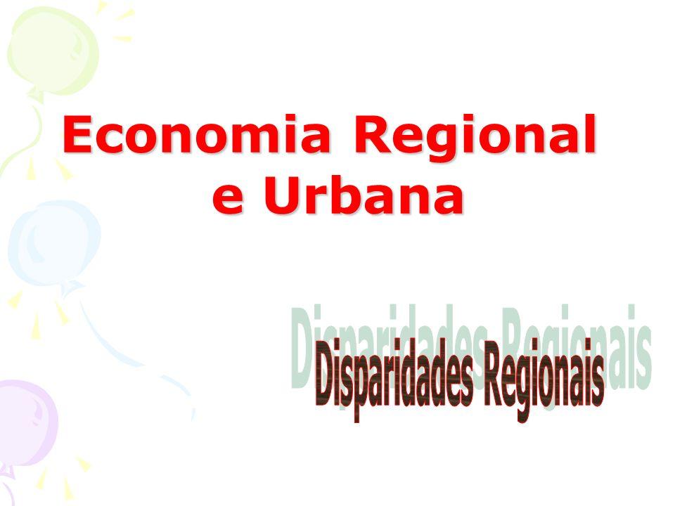 Economia Regional e Urbana e Urbana