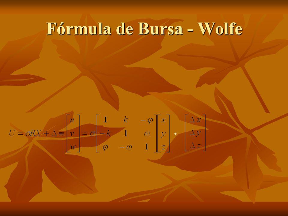 Fórmula de Bursa - Wolfe +
