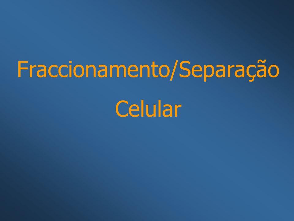 Fraccionamento/Separação Celular