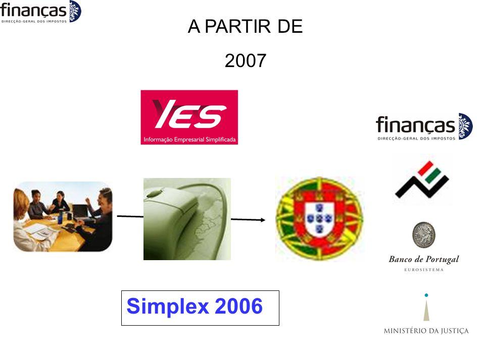 A PARTIR DE 2007 Simplex 2006