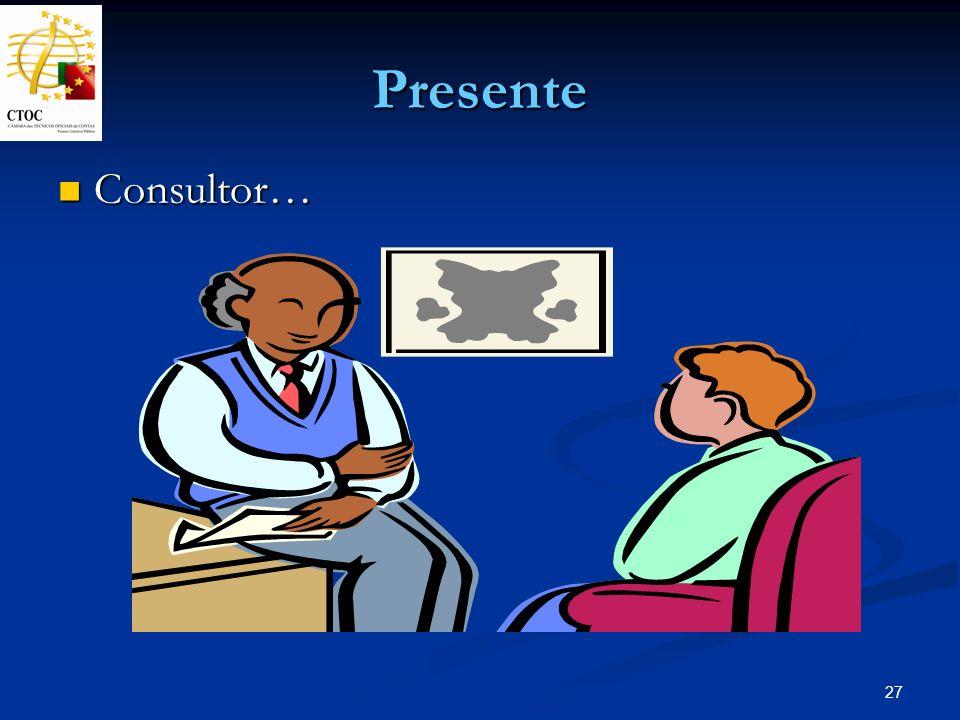 27 Presente Consultor… Consultor…