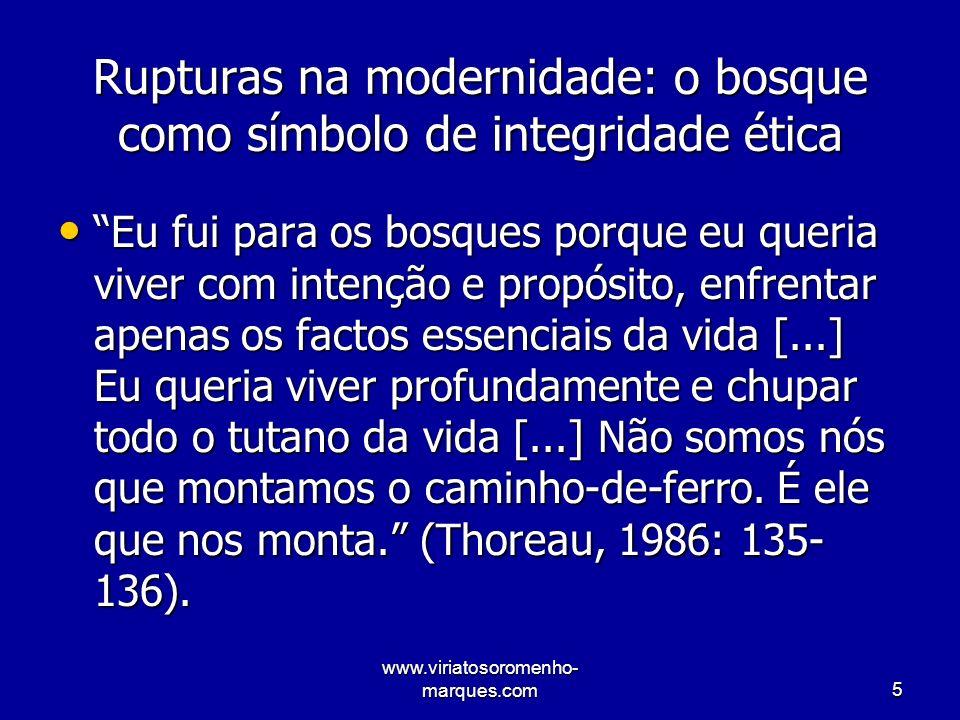 www.viriatosoromenho- marques.com26 Velhos Valores e movimentos sociais clássicos Ideologia do Progresso.