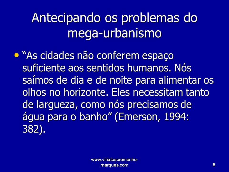 www.viriatosoromenho- marques.com17 Outros domínios do conhecimento científico –Veiga da Cunha: recursos hídricos.