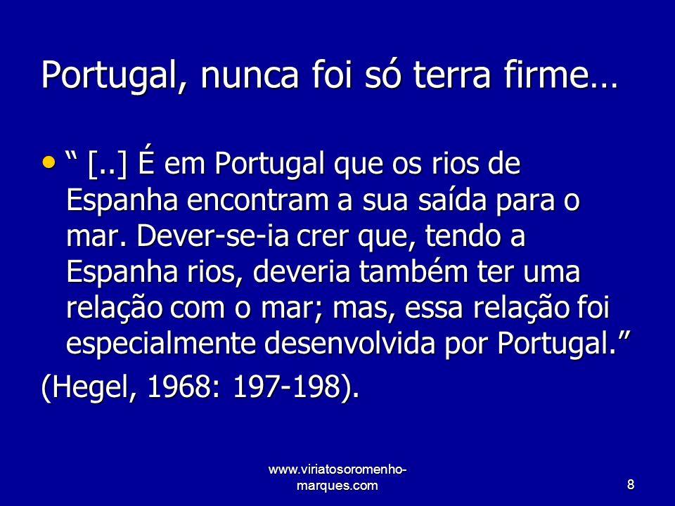 www.viriatosoromenho- marques.com29 Mais Estado e regulação… O retorno à função reguladora das políticas públicas, no plano nacional e internacional.