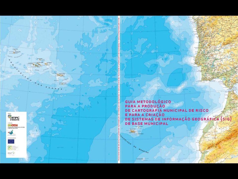Conteúdos – Estrutura Enquadramento Conceitos Abrangência Metodologia para a produção e utilização de Cartografia Municipal de Risco Sistema de Informação Geográfica