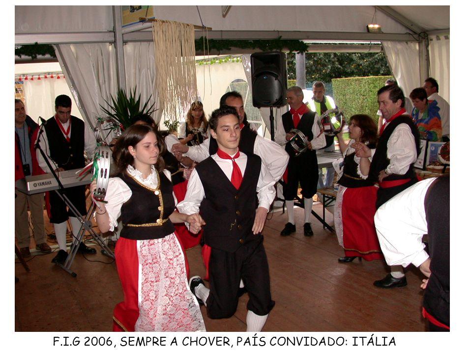 F.I.G 2006, SEMPRE A CHOVER, PAÍS CONVIDADO: ITÁLIA