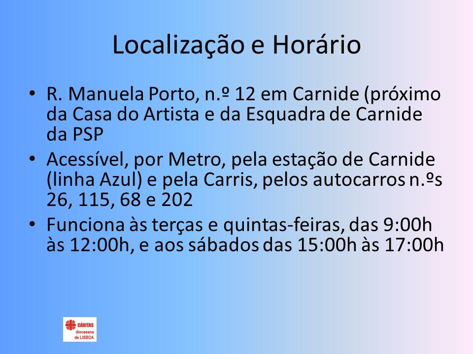 Localização e Horário R.