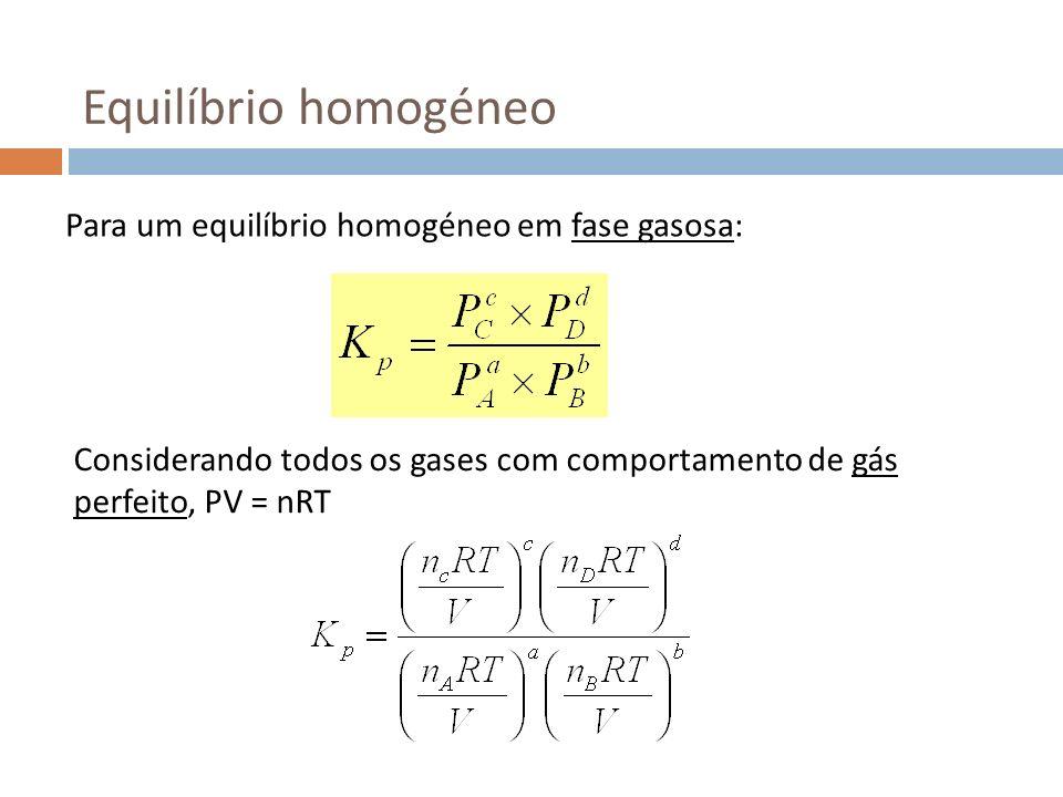 Alteração da concentração Considere-se o equilíbrio butano isobutano Partindo de um estado de equilíbrio em que [isobutano] = 1.25 M e [butano] = 0.5 M, adiciona-se 1.5 M de butano.