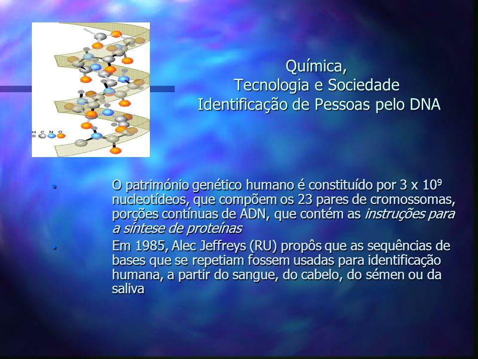 O património genético humano é constituído por 3 x 10 9 nucleotídeos, que compõem os 23 pares de cromossomas, porções contínuas de ADN, que contém as
