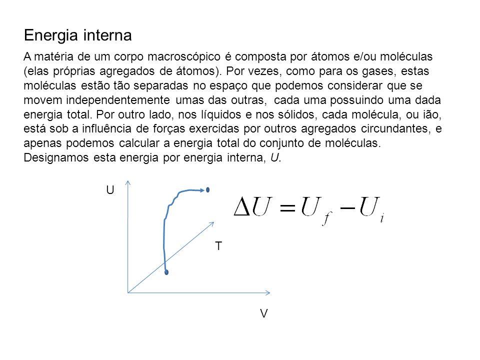 Por unidade de massa do fluido, o trabalho resultante, w, na central a turbina de gás é a diferença entre o trabalho na turbina e o trabalho no compressor: O calor adicionado ao fluido proveniente do compressor, q, que é devido à subida de temperatura causada pela combustão adiabática, é igual à variação de entalpia no processo a pressão constante: Assim, a eficiência η do ciclo de Brayton é: