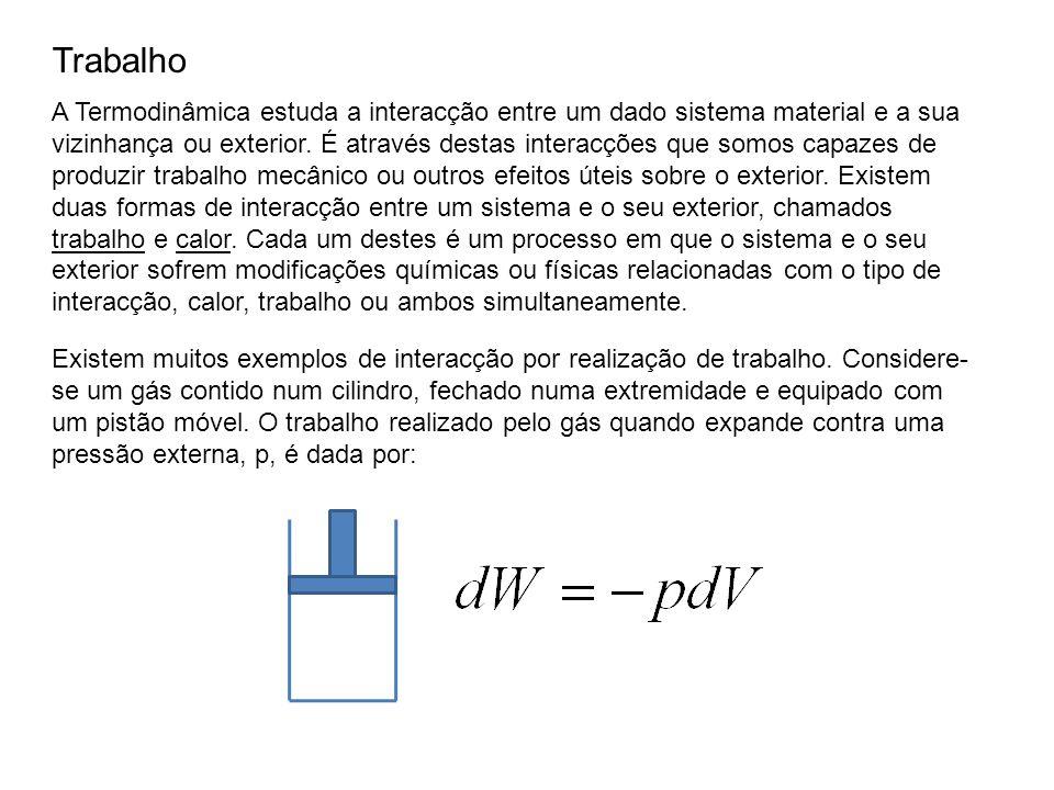 Existe uma expressão similar para calcular o trabalho necessário para operar a bomba.