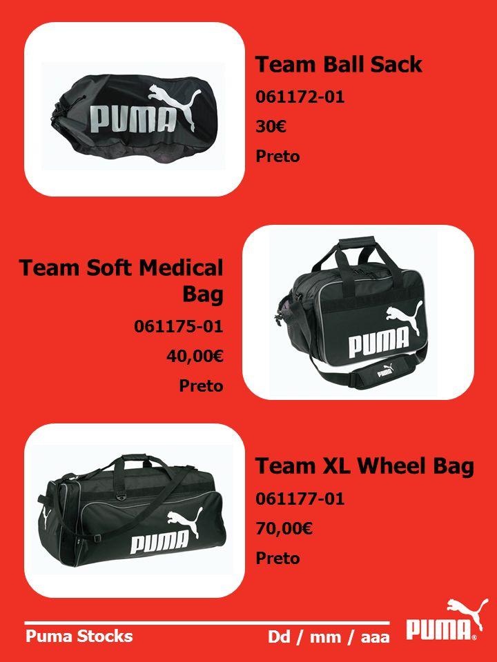 Puma Stocks Dd / mm / aaa Foundation Medium Bag 063257-01 25,00 Disponivel em Preto, azul- marinho e antracite.