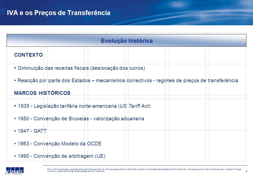 3 © 2010 KPMG & Associados - Sociedade de Revisores Oficiais de Contas, SA, a firma portuguesa membro da rede KPMG, composta por firmas independentes