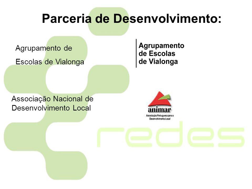 Agrupamento de Escolas de Vialonga Associação Nacional de Desenvolvimento Local Parceria de Desenvolvimento: