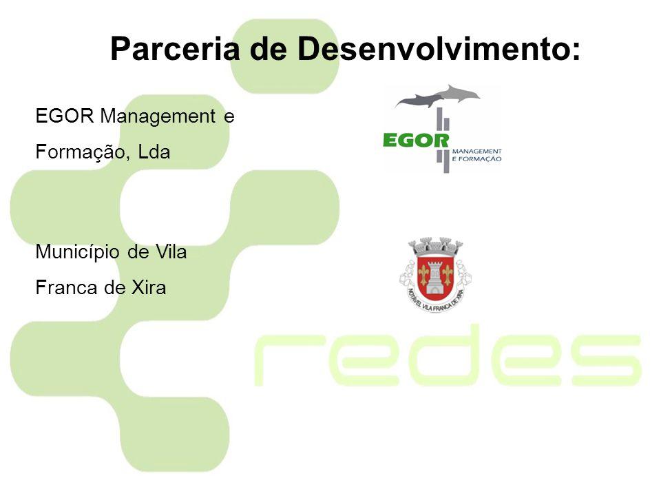 EGOR Management e Formação, Lda Município de Vila Franca de Xira Parceria de Desenvolvimento: