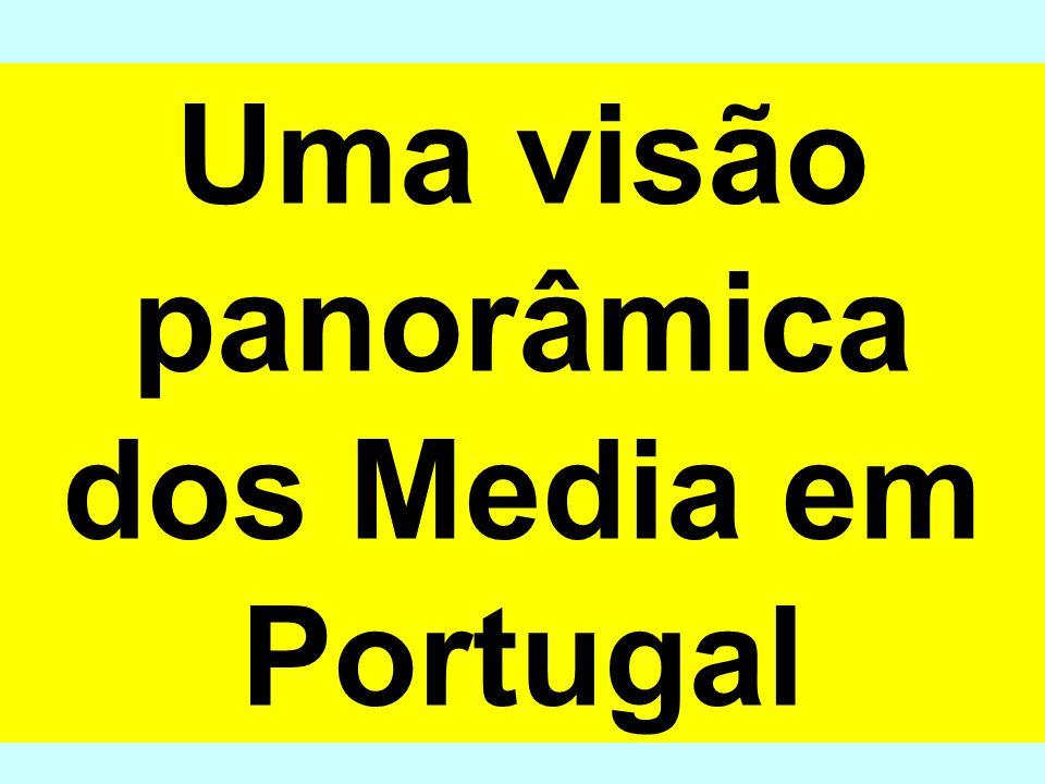 Uma visão panorâmica dos Media em Portugal