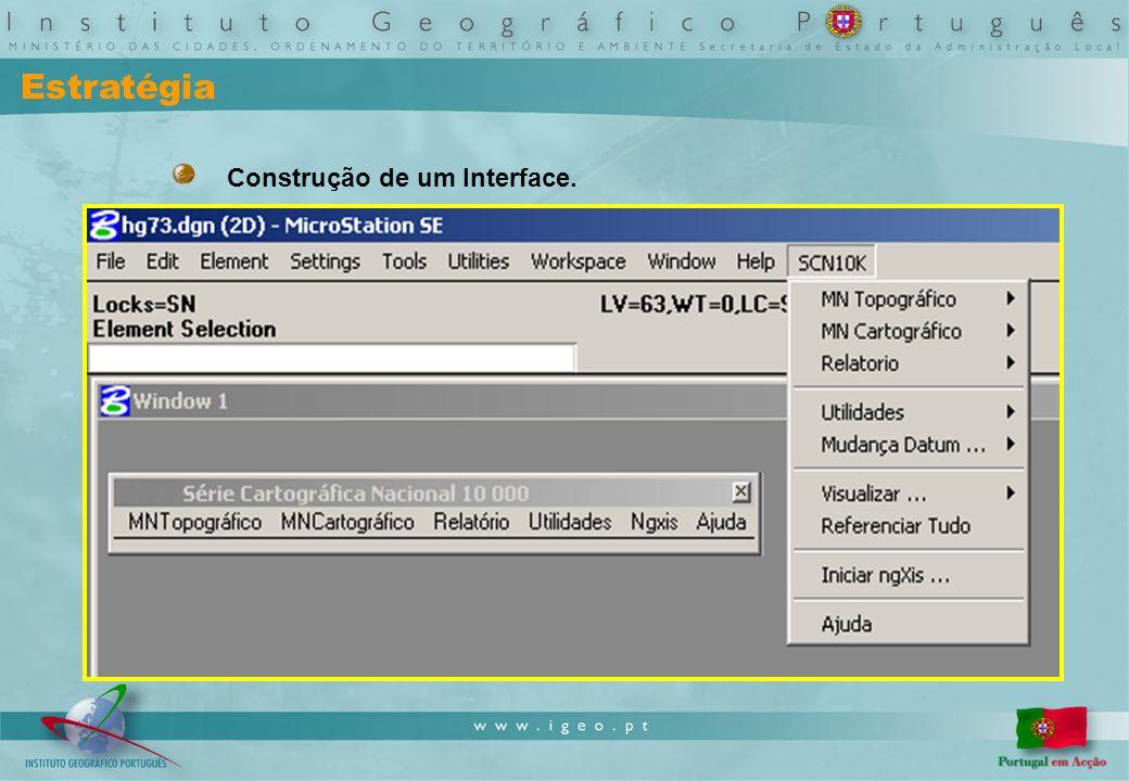 Interface SERVIDOR com: Aplicações, Ficheiros de parâmetros, utilitários, etc.