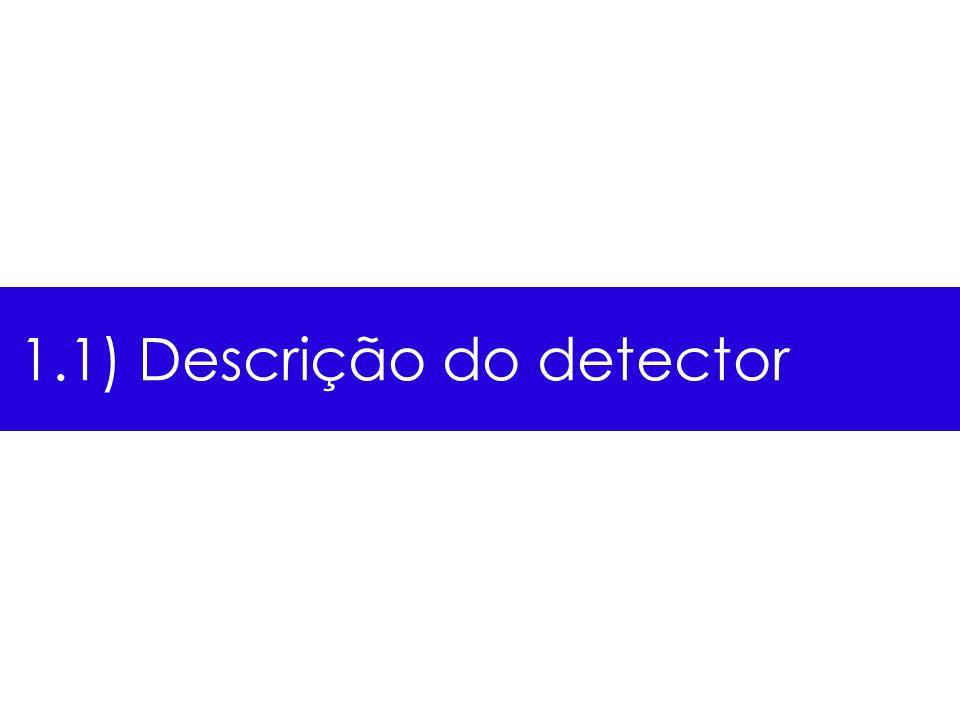 1.1) Descrição do detector
