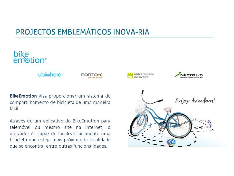 BikeEmotion visa proporcionar um sistema de compartilhamento de bicicleta de uma maneira fácil.