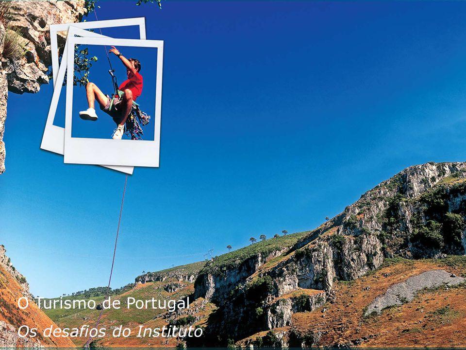 Relatório de Sustentabilidade 2008 O Turismo de Portugal Os desafios do Instituto Uma viagem que nos aproxima do futuro O Turismo de Portugal Os desaf