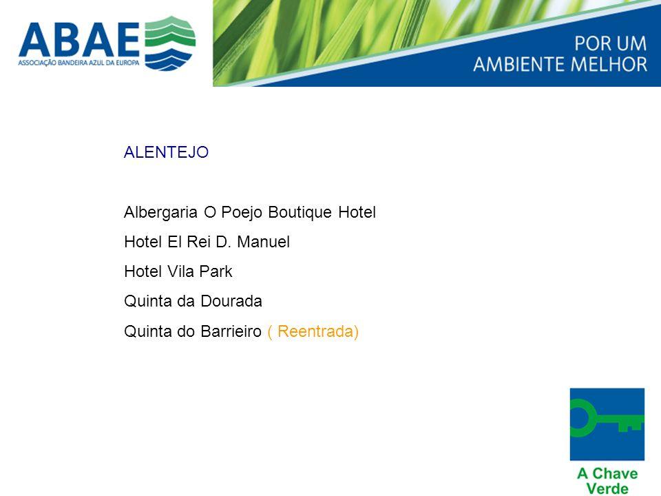 ALENTEJO Albergaria O Poejo Boutique Hotel Hotel El Rei D.