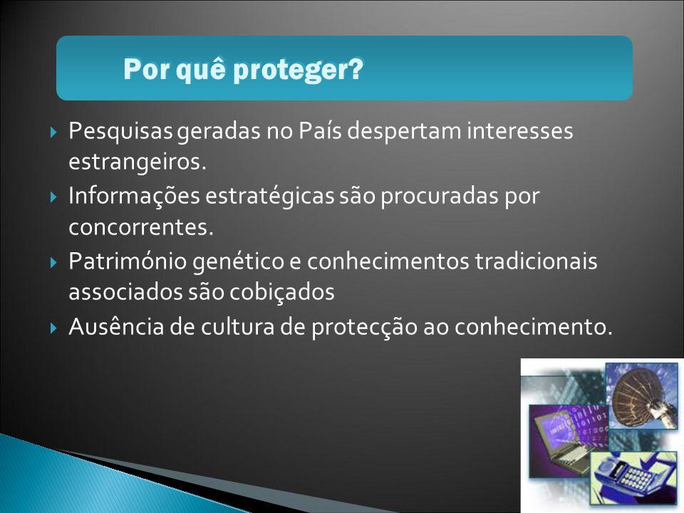 Ausência de cultura de protecção Facilidade de acesso não autorizado Redução da percepção das ameaças Motivos para preocupação