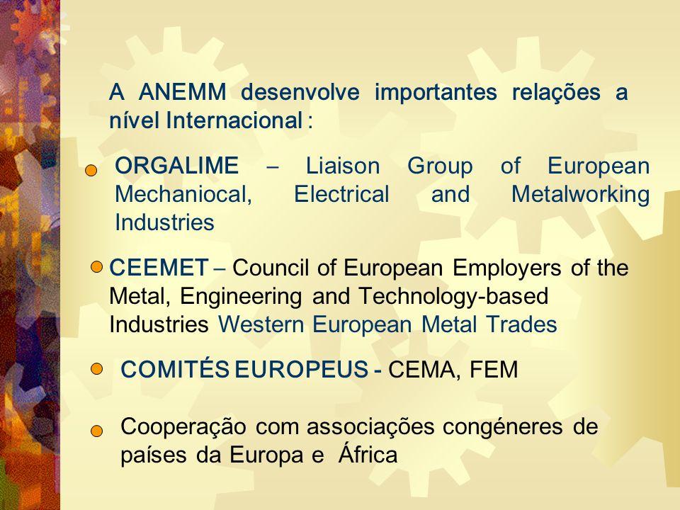 BALANÇA COMERCIAL IMPORTAÇÕES - 16 299 milhões de euros 31% do total de entradas EXPORTAÇÕES- 10 201 milhões de euros 30% do total de Saídas Taxa de cobertura: 63% RELAÇÕES COMERCIAIS Principal Zona União Europeia Principais Países Espanha, Alemanha, França, Itália, Bélgica, Reino Unido e Angola (4,3% saídas)