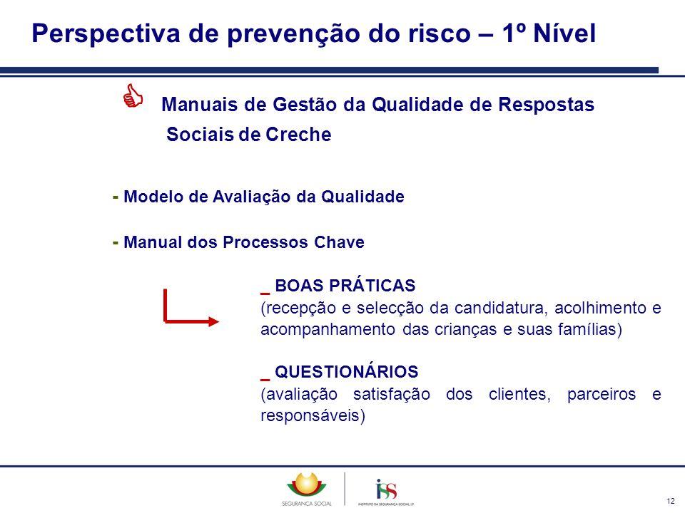 12 Manuais de Gestão da Qualidade de Respostas Sociais de Creche - Modelo de Avaliação da Qualidade - Manual dos Processos Chave _ BOAS PRÁTICAS (rece