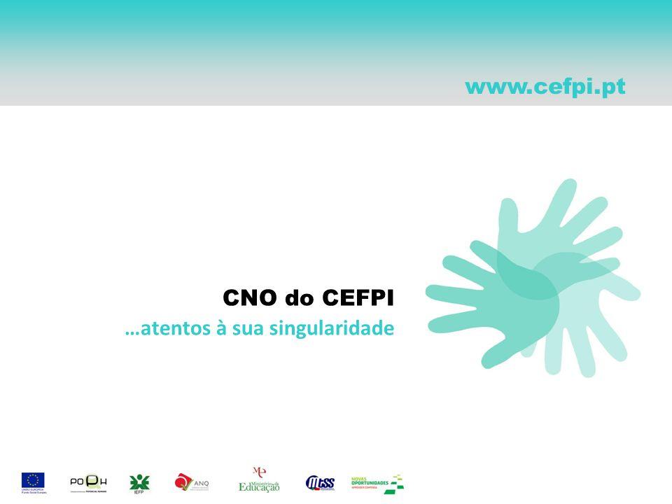 CNO do CEFPI …atentos à sua singularidade www.cefpi.pt