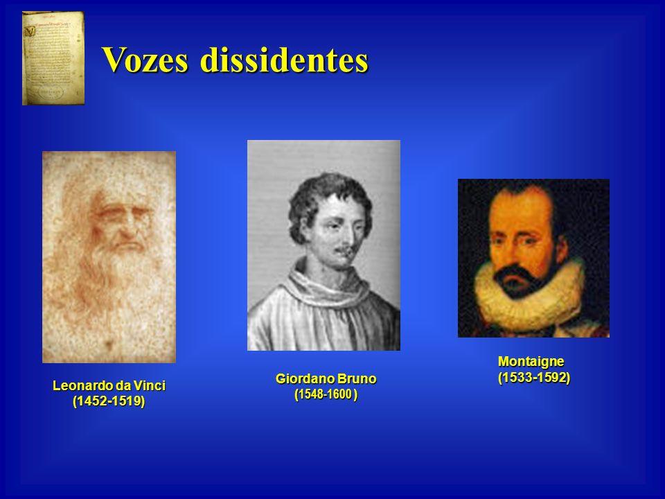 Vozes dissidentes Sêneca (5 a.C.-65 d.C.) Ovídio (43 a.C.-17 d.C.) Pítagoras (572 a.C.- 497 a.C.) Francisco de Assis (1181-1226) (1181-1226) Plutarco