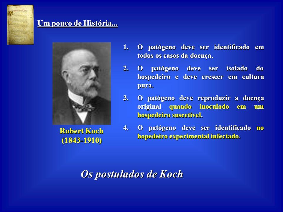 Um pouco de História... Um pouco de História... Louis Pasteur (1822-1895) (1822-1895) Vacinação contra a Raiva