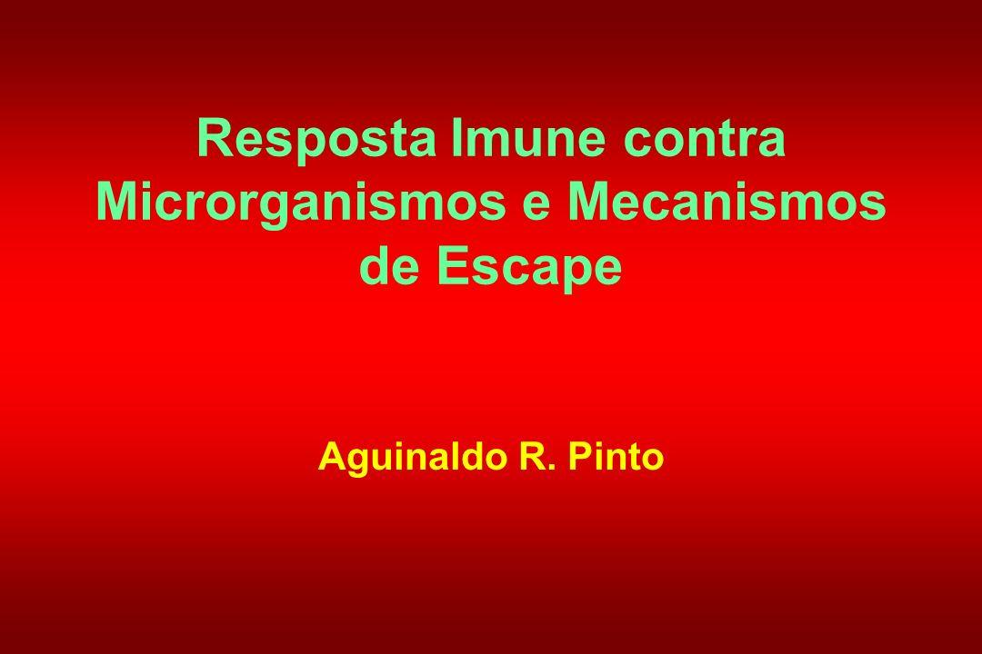 Resposta Imune contra Microrganismos e Mecanismos de Escape Aguinaldo R. Pinto