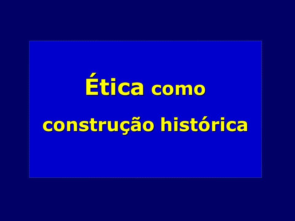 Ética como construção histórica