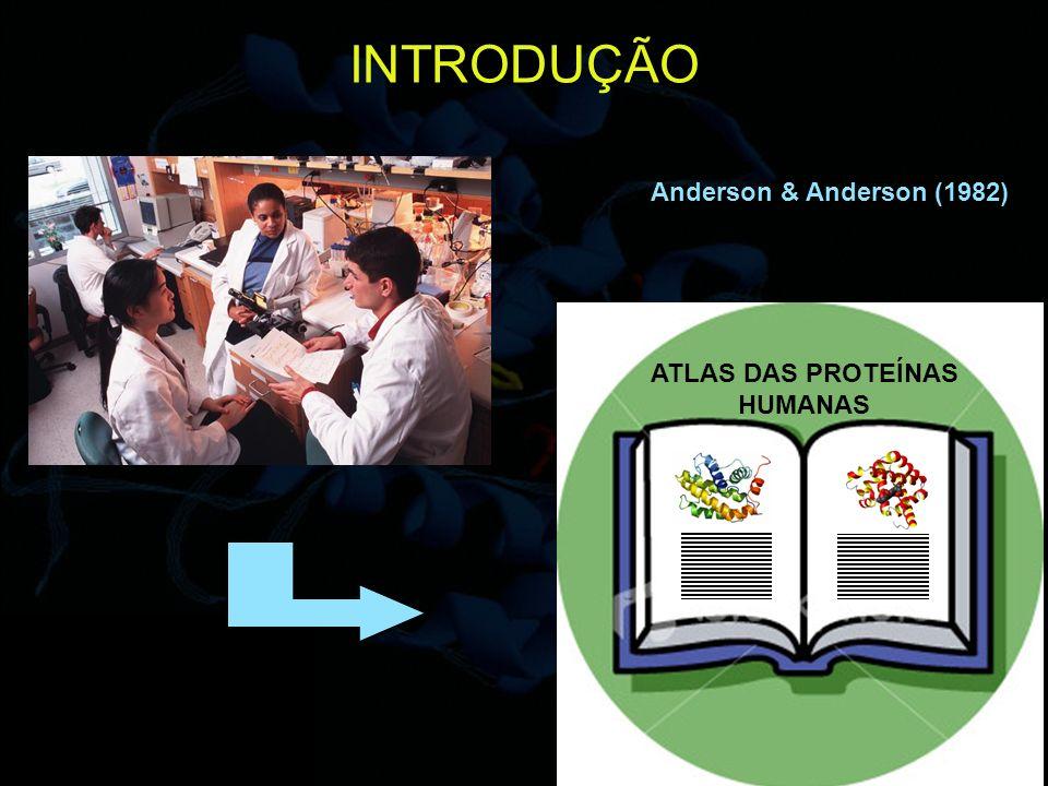5 INTRODUÇÃO Anderson & Anderson (1982) ATLAS DAS PROTEÍNAS HUMANAS