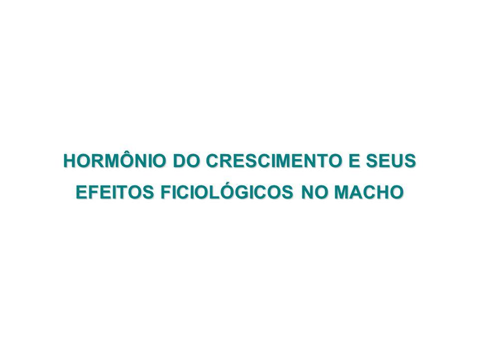 HORMÔNIO DO CRESCIMENTO E SEUS EFEITOS FICIOLÓGICOS NO MACHO