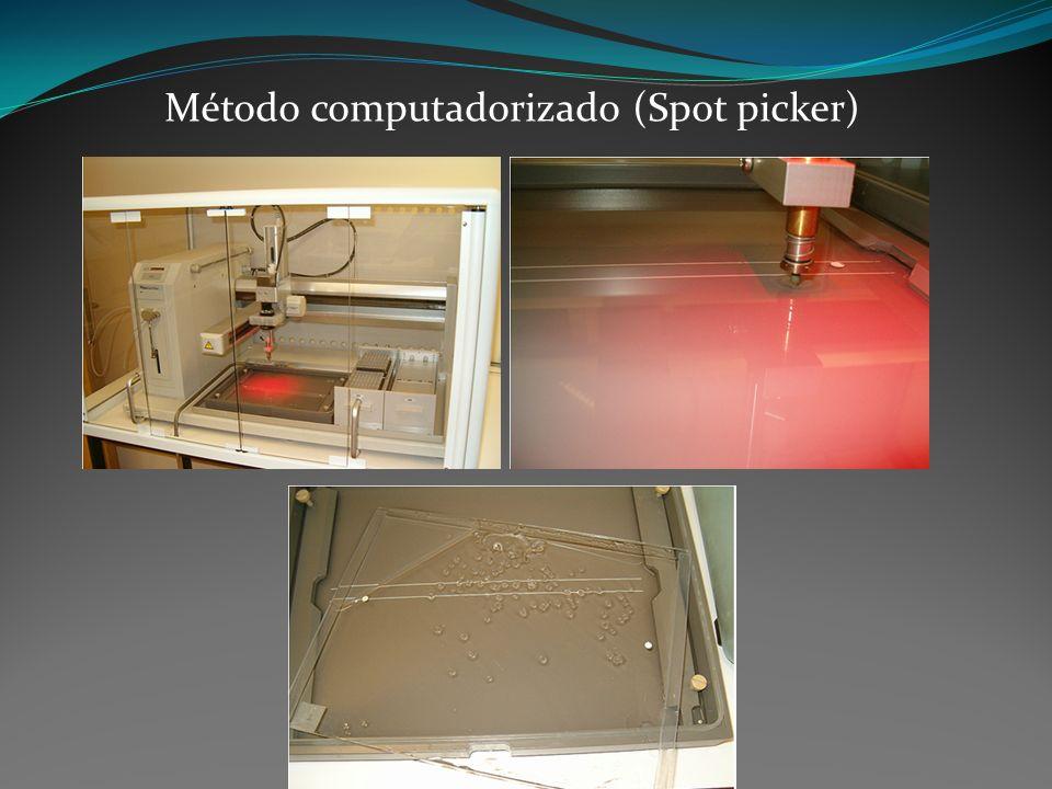 Método computadorizado (Spot picker)