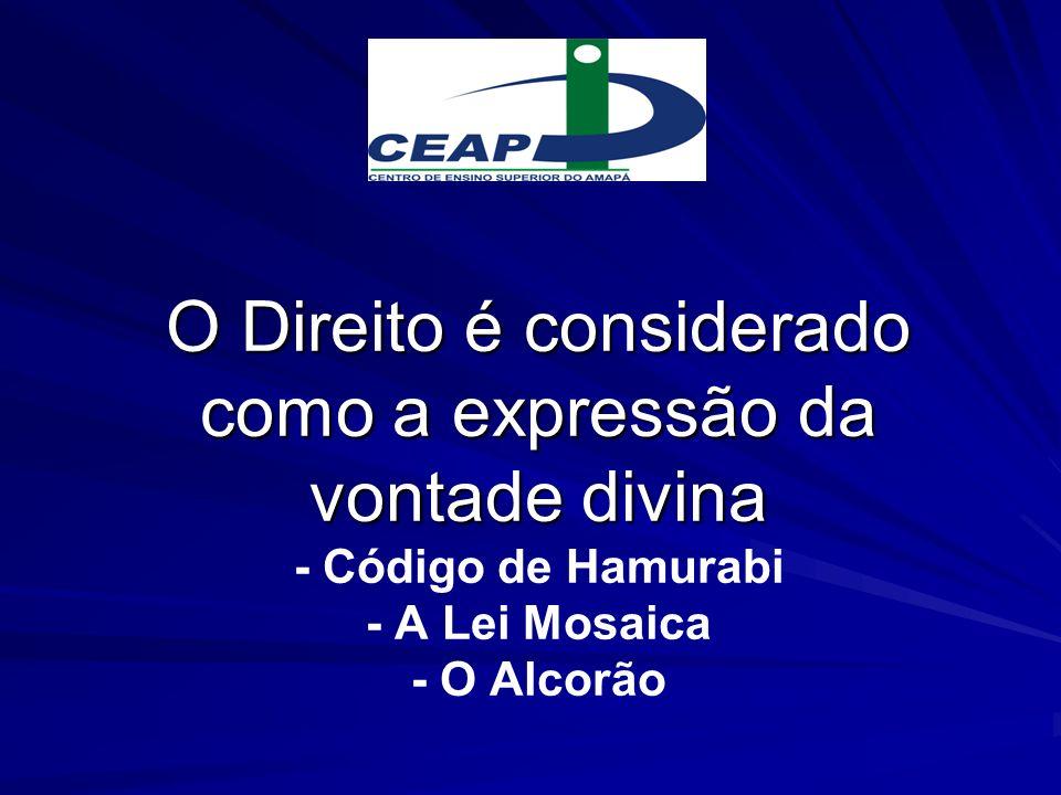 A Classe Sacerdotal detinha o monopólio do conhecimento jurídico A laicização do Direito dá-se no sec.