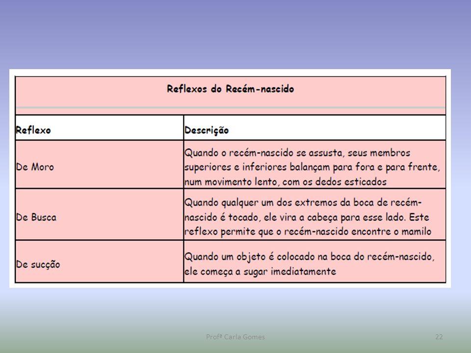 Profª Carla Gomes22