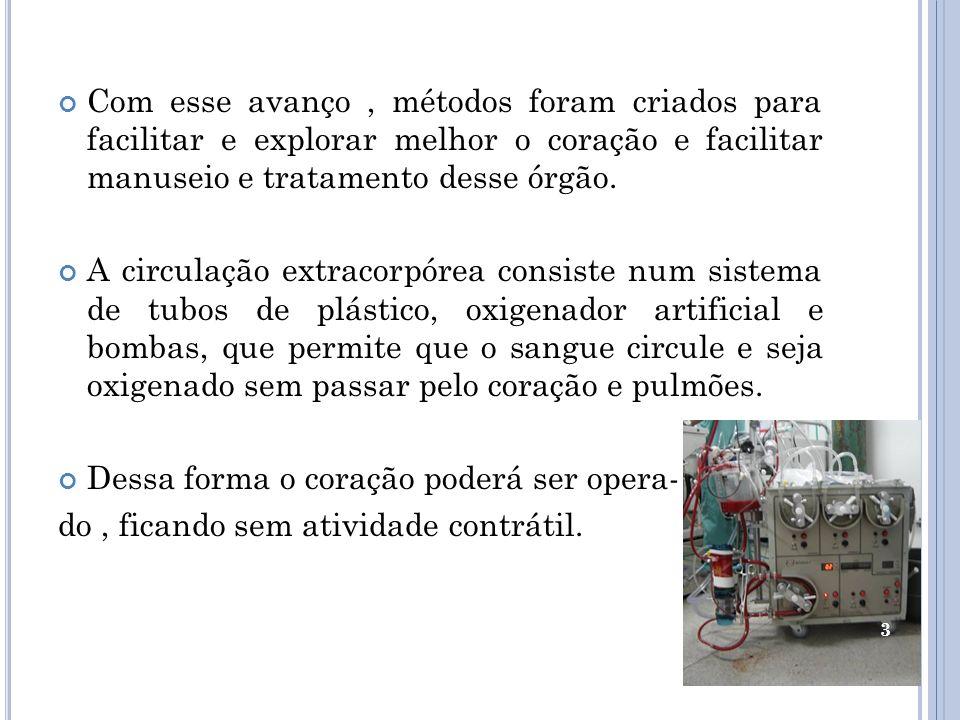CIRURGIA DE REVASCULARIZAÇÃO DO MIOCÁRDIO O que é ??? 4