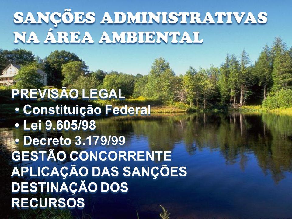 GESTÃO CONCORRENTE Art.8º. do Decreto Nº. 3.179/99.