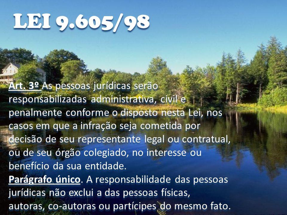 LEI 9.605/98 Art.70.